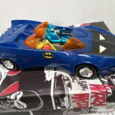 Figuras y Muñecos DC: LOTE BATMOVIL BATMAN ROBIN SERIE SUPERPOWERS SUPER POWERS KENNER DC COMICS VINTAGE AÑOS 80. Lote 221622452