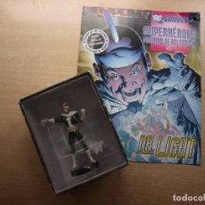 Figuras y Muñecos DC: DC COMC - SUPERHEROES FIGURAS DE COLECCION - Nº 45 - DR. LIGHT - FIGURA Y FASCICULO. Lote 221656636
