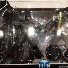 Figuras y Muñecos DC: PACK FIGURAS BATMAN Y JOKER ARKHAM ASYLUM MCFARLANE MULTIVERSE DC COMICS. Lote 221754995