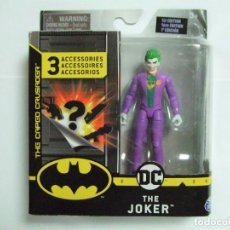 Figuras y Muñecos DC: FIGURA THE JOKER 10 CM. - SPIN MASTER DC COMICS SPINMASTER FIGURE 4 INCH - EL JOKER MUÑECO BATMAN. Lote 222584572