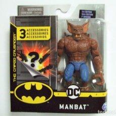 Figuras y Muñecos DC: FIGURA MANBAT 10 CM. - SPIN MASTER DC COMICS SPINMASTER FIGURE 4 INCH - MAN BAT BATMAN MURCIELAGO. Lote 222584852