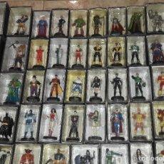 Figuras y Muñecos DC: COLECCION COMPLETA DE 50 FIGURAS DE PLOMO DC ALTAYA + EXCLUSIVA + EXTRAS ALTAYA JLA SUPERMAN BATMAN. Lote 243320440