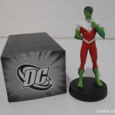 Figuras y Muñecos DC: FIGURA BEAST BOY, PLOMO PINTADO, DC COMICS, SUPERHEROES FIGURAS DE COLECCION, ALTAYA. Lote 224512162