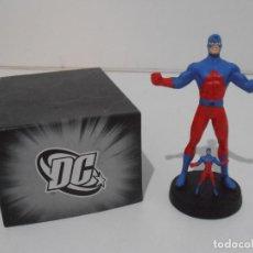 Figuras y Muñecos DC: FIGURA ATOMO, PLOMO PINTADO, DC COMICS, SUPERHEROES FIGURAS DE COLECCION, ALTAYA. Lote 224518092