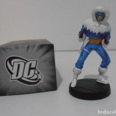Figuras y Muñecos DC: FIGURA CAPITAN COLD, PLOMO PINTADO, DC COMICS, SUPERHEROES FIGURAS DE COLECCION, ALTAYA. Lote 224519903