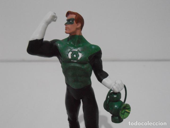 Figuras y Muñecos DC: FIGURA GREEN LANTERN, PLOMO PINTADO, DC COMICS, SUPERHEROES FIGURAS DE COLECCION, ALTAYA - Foto 2 - 224520190