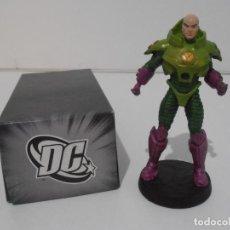 Figuras y Muñecos DC: FIGURA LEX LUTHOR, PLOMO PINTADO, DC COMICS, SUPERHEROES FIGURAS DE COLECCION, ALTAYA. Lote 224521215
