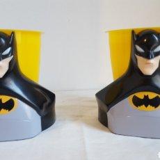 Figuras y Muñecos DC: VASO - POSAVASOS - PORTALAPICES BATMAN - OFICIAL DC COMICS - PRECIO POR UNIDAD. Lote 225008310