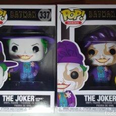 Figuras y Muñecos DC: LOTE 2 FUNKO POP THE JOKER BATMAN 1989 + VERSIÓN CHASE 337. Lote 228572002