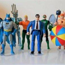 Figuras y Muñecos DC: LOTE VINTAGE KENNER DC SERIE 1 COMPLETA (12 FIGURAS) ¡USADO!. Lote 230164470