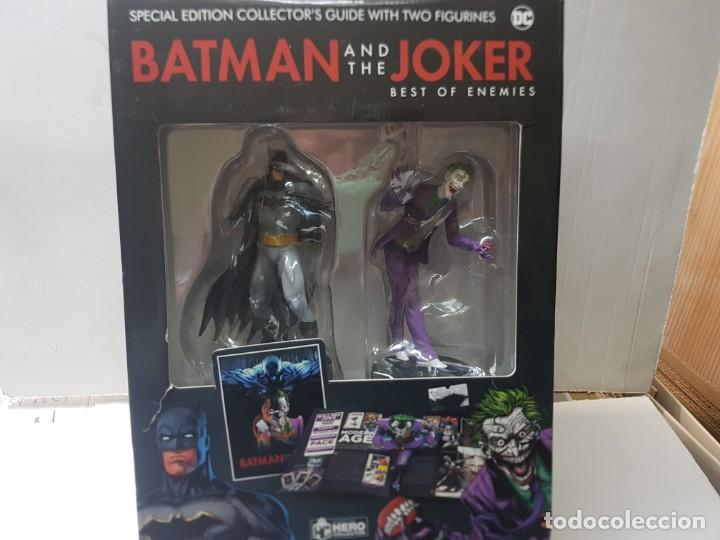 Figuras y Muñecos DC: Batman AND the Joker Special Edition Collectors guide With two figurines Hero collector DC blister - Foto 3 - 235522735