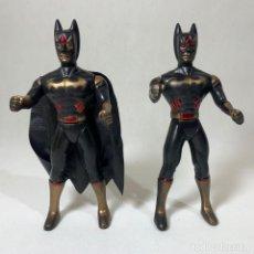Figuras y Muñecos DC: LOTE 2 FIGURAS BATMAN BOOTLEG - 15 CM. Lote 238480865