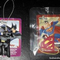 Figuras y Muñecos DC: BATMAN Y LOGO SUPERMAN PHOSKITOS. Lote 241165815