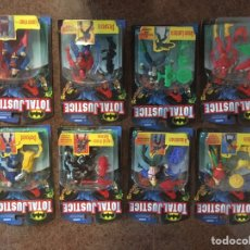 Figuras y Muñecos DC: TOTAL JUSTICE SUPERMAN AQUAMAN FLASH. Lote 245507340