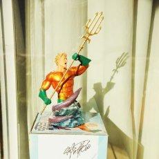 Figuras y Muñecos DC: AQUAMAN BUSTO HEROES OF DC UNIVERSE DISEÑO CARLOS PACHECO CON AUTOGRAFO EDICION LIMITADA.. Lote 246826760