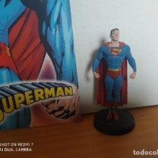 Figuras y Muñecos DC: FIGURA DE PLOMO DC COLECCION ALTAYA - Nº 2 SUPERMAN - INCLUYE REVISTA (7C). Lote 253893135