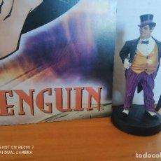 Figuras y Muñecos DC: FIGURA DE PLOMO DC COLECCION ALTAYA - Nº 26 PENGUIN (EL PINGUINO) - INCLUYE REVISTA (7C). Lote 254006230