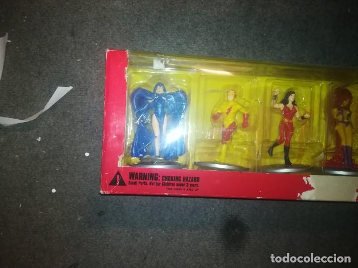 Figuras y Muñecos DC: The New Teen Titans 7-Piece PVC Set 2000 DC Direct - Foto 2 - 254714130