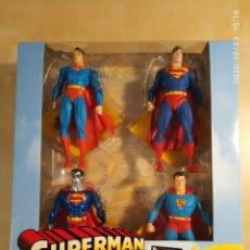 Figuras y Muñecos DC: SUPERMAN THROUGH THE AGES BOX SET - DC DIRECT ACTION FIGURES. Lote 254915250