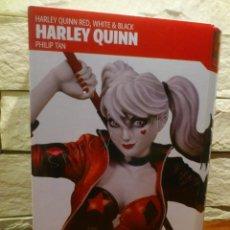 Figuras y Muñecos DC: DC COMICS - HARLEY QUINN - RED WHITE & BLACK - ESTATUA - EDICION NUMERADA Y LIMITADA A 5000 - NUEVA. Lote 257356490