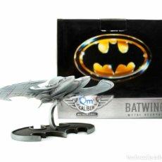 Figuras y Muñecos DC: FIGURA NAVE BATWING BATMAN 1989 DC QUANTUM MECHANIX NUEVO. Lote 261560675
