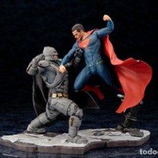 Figuras y Muñecos DC: BATMAN V SUPERMAN: DAWN OF JUSTICE ARTFX+ 2 STATUE SET KOTOBUKIYA. Lote 262486255
