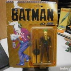 Figuras y Muñecos DC: BATMAN JOKER STAR TOY TOY BIZ RARA VERSION ESPAÑOLA CD COMIC INC 1989 EN BLISTER SIN ABRIR. Lote 263123695