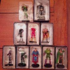 Figuras y Muñecos DC: DC LOTE DE 10 FIGURAS DE PLOMO ALTAYA. Lote 269106848