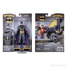 Figuras y Muñecos DC: FIGURA BENDYFIGS BATMAN 19 CM - DC COMICS - NOBLE TOYS. Lote 277156618