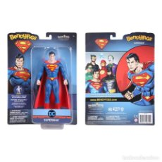 Figuras y Muñecos DC: FIGURA BENDYFIGS SUPERMAN 19 CM - DC COMICS - NOBLE TOYS. Lote 277156708