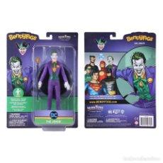 Figuras y Muñecos DC: FIGURA BENDYFIGS JOKER 19 CM - DC COMICS - NOBLE TOYS. Lote 277156828