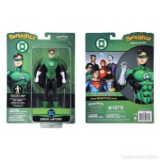 Figuras y Muñecos DC: FIGURA BENDYFIGS GREEN LANTERN 19 CM - DC COMICS - NOBLE TOYS. Lote 277157023