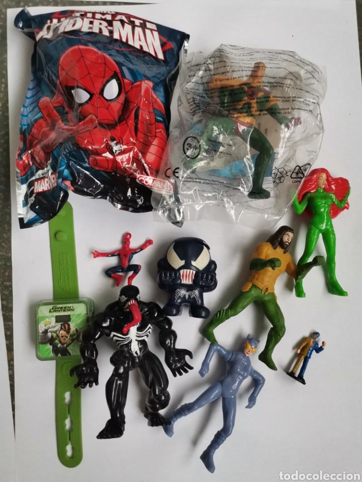 LOTE FIGURAS JUGUETES MARVEL DC (Juguetes - Figuras de Acción - DC)