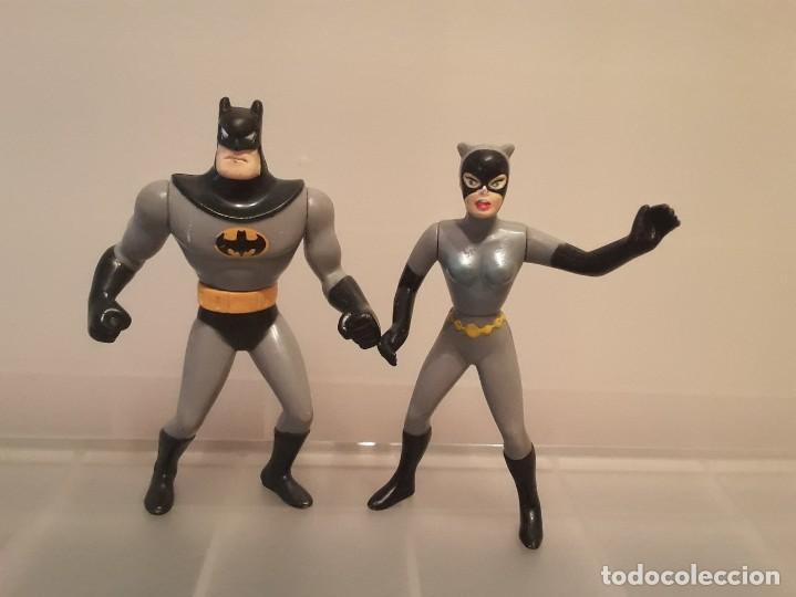 LOTE 2 FIGURAS BATMAN KENNER 1993. (Juguetes - Figuras de Acción - DC)
