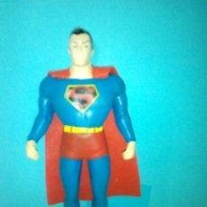 Figuras y Muñecos DC: ANTIGUA FIGURA SUPERMAN DC NUEVA FRONTERA NJCROCE FLEXIBLE. Lote 288368098