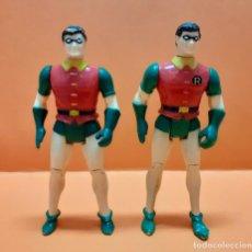 Figuras y Muñecos DC: LOTE 2 FIGURAS DC BATMAN ROBIN 1989 DIFERENTES. Lote 289221173