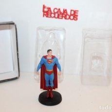 Figuras y Muñecos DC: FIGURA SUPERMAN DE PLOMO DC. Lote 293629603