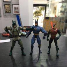 Figuras y Muñecos DC: LOTE MUÑECOS BATMAN Y ROBIN DC COMICS AÑOS 90. Lote 294437143