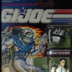 Figuras y Muñecos Gi Joe: FIGURA GIJOE GI JOE COUNTDOWN NUEVA A ESTRENAR AÑO 1990 EN SU BLISTER PERFECTO. Lote 104390388