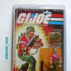 Figuras y Muñecos Gi Joe: 1983 VINTAGE (HASBRO) GI JOE: BAZOOKA + STAR CASE / NUEVO EN BLISTER - (MOC) - GIJOE. Lote 158683538