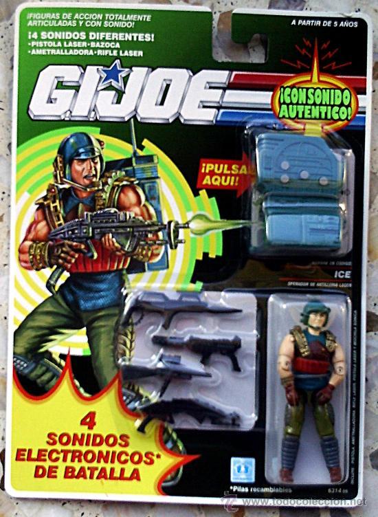 MUÑECO GIJOE G.I. JOE ICE (Juguetes - Figuras de Acción - GI Joe)