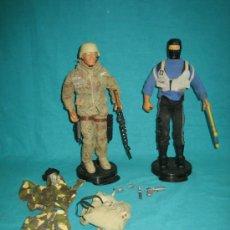Figuras y Muñecos Gi Joe: 2 MUÑECOS GIJOE COMANDO. Lote 33959932
