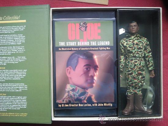 Figuras y Muñecos Gi Joe: Gi JOE Tamaño Geyperman Action Marine Firmada por el Creador Don Levine - Foto 2 - 37136897