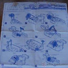 Figuras y Muñecos Gi Joe: GI JOE INSTRUCCIONES RAT . Lote 37556609