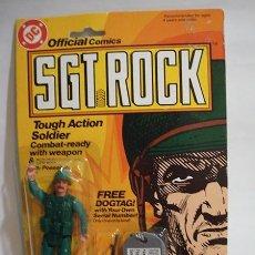 Figuras y Muñecos Gi Joe: SGT. ROCK - DC COMICS - REMCO - AÑOS 80. Lote 39638829