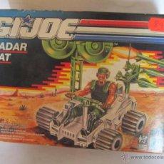 Figuras y Muñecos Gi Joe: NAVE GI JOE, GIJOE, RADAR RAT EN CAJA. CC. Lote 39799433