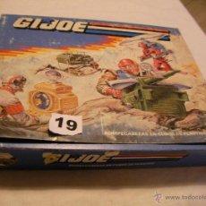 Figuras y Muñecos Gi Joe: ANTIGUO ROMPECABEZAS DE CUBOS DE PLASTICO ORIGINAL GI JOE NUEVO SIN USAR EN SU CAJA. Lote 39855920