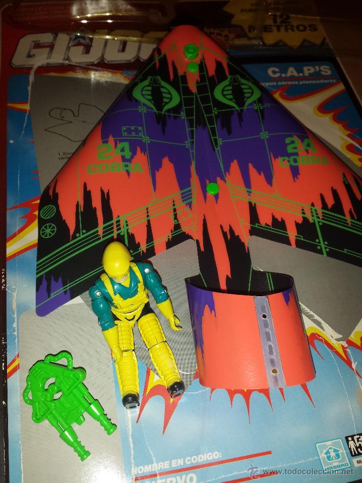 FIGURA GIJOE C.A.P'S A ESTRENAR AÑO 1991 GI JOE - NUEVO (Juguetes - Figuras de Acción - GI Joe)