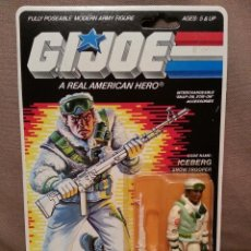 Figuras y Muñecos Gi Joe - GI JOE VINTAGE - ICEBERG - 1986 - MOC - GIJOE EN BLISTER G.I. JOE HASBRO - 45026238