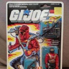 Figuras y Muñecos Gi Joe - GI JOE VINTAGE - ASTRO VIPER - 1987 - MOC - GIJOE EN BLISTER G.I. JOE HASBRO - 45026249